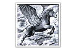 The Flying Horse Smarden Footer Logo